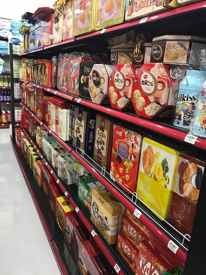 Hàng hóa tại siêu thị tại Hải Phòng