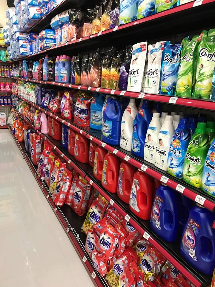 Hàng hóa tại siêu thị Hân An