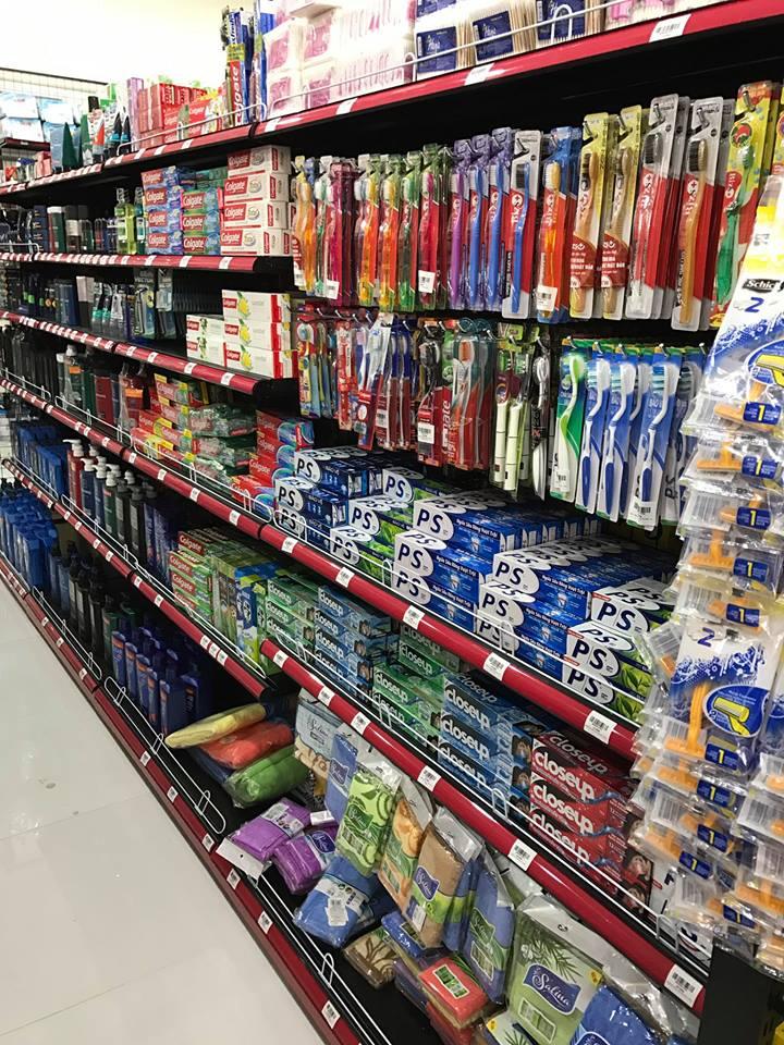 Hàng hóa tại siêu thị Hân An Hải Phòng