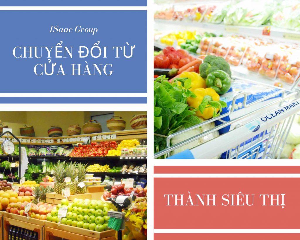 Chuyển đổi cửa hàng thành siêu thị