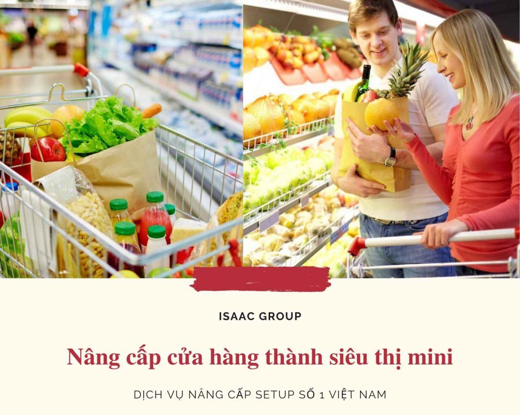 Dịch vụ nâng cấp cửa hàng tạp hóa