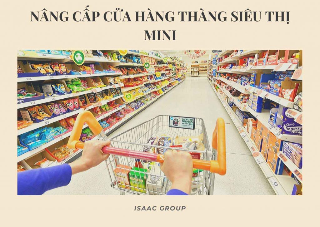 Nâng cấp cửa hàng thành siêu thị