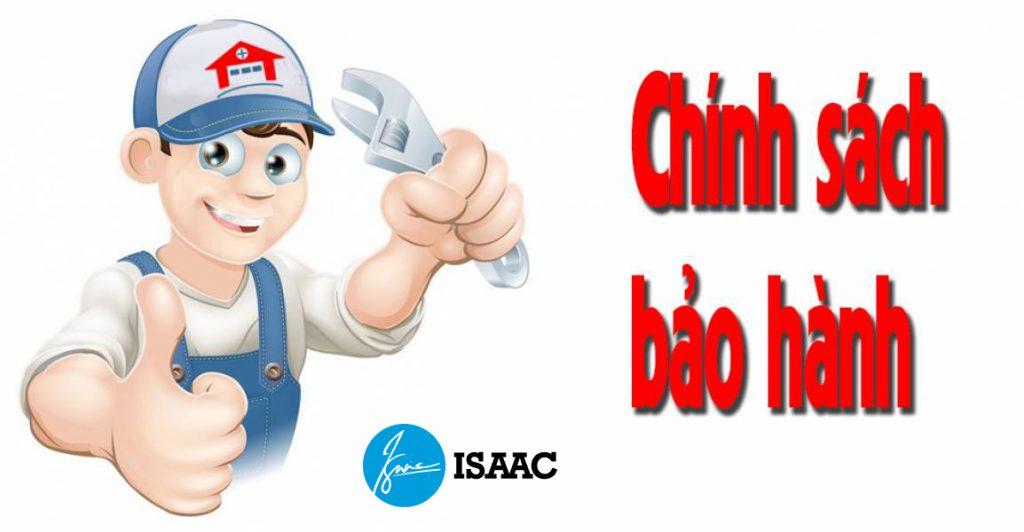 Chính sách bảo hành sản phẩm tại ISAAC