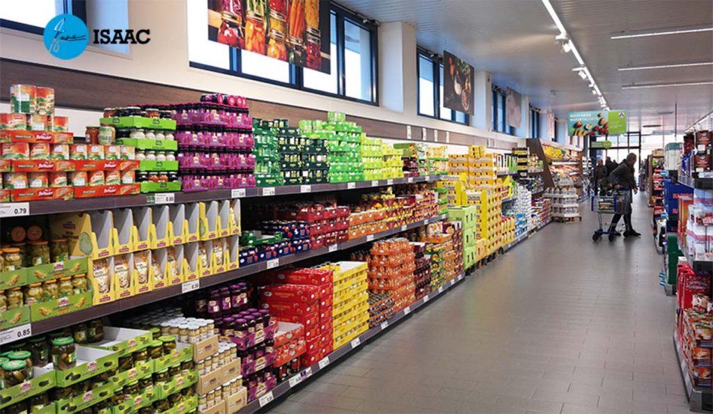 Thiết kế siêu thị theo phong cách mới