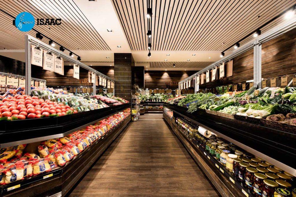 Trang trí siêu thị mini