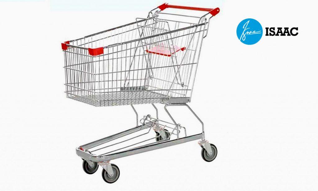 Các mẫu xe đẩy siêu thị
