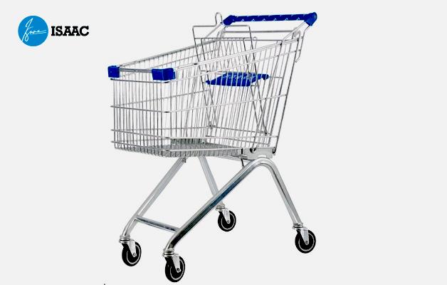 Xe đẩy siêu thị mini