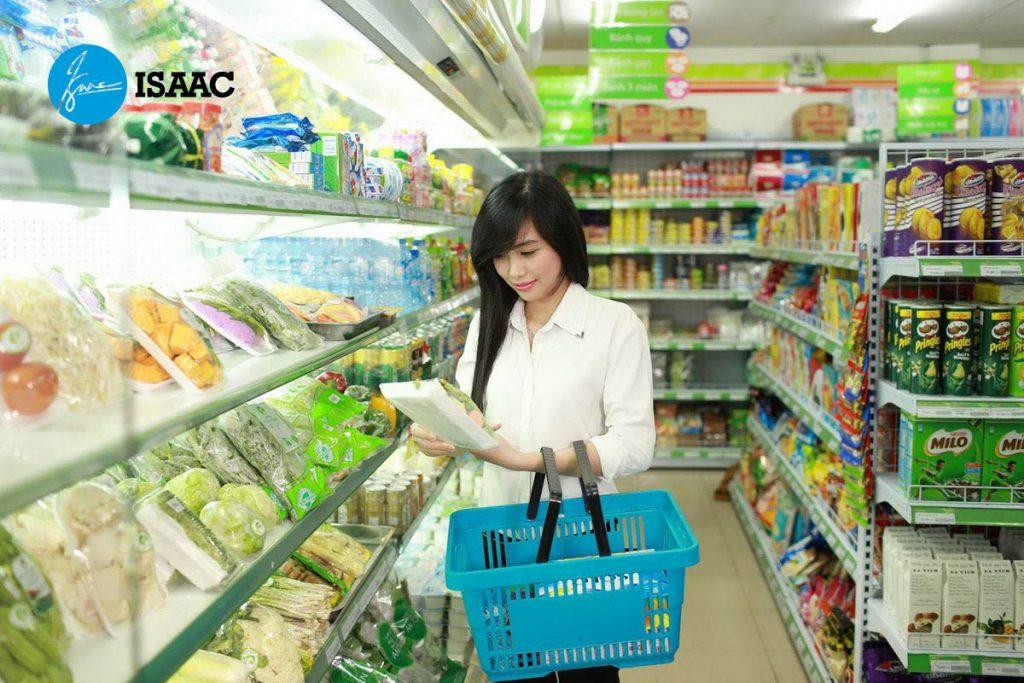 nhượng quyền siêu thị mini Co.op Food