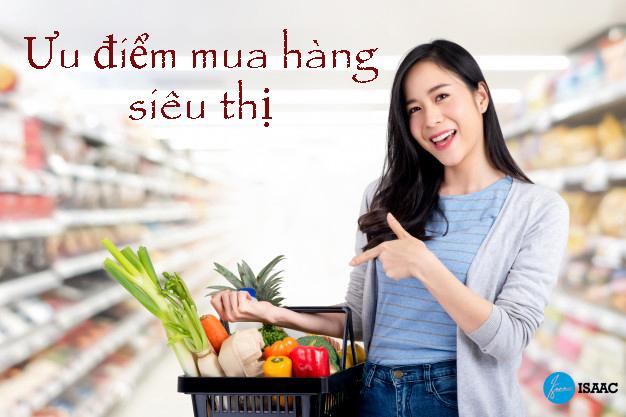 Mua hàng tại siêu thị có ưu điểm gì