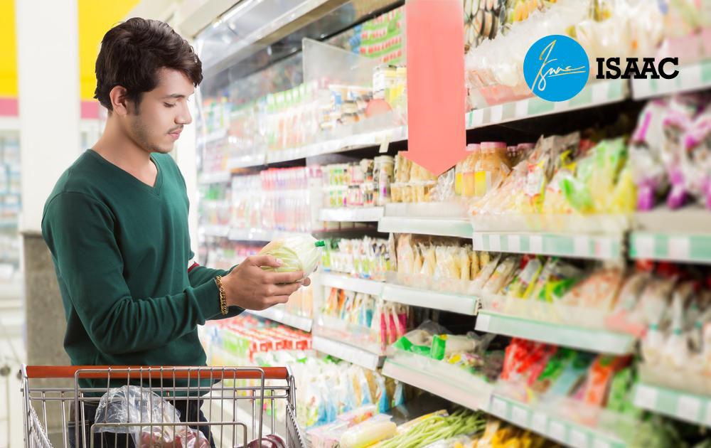 Lấy hàng tạp hóa cho siêu thị