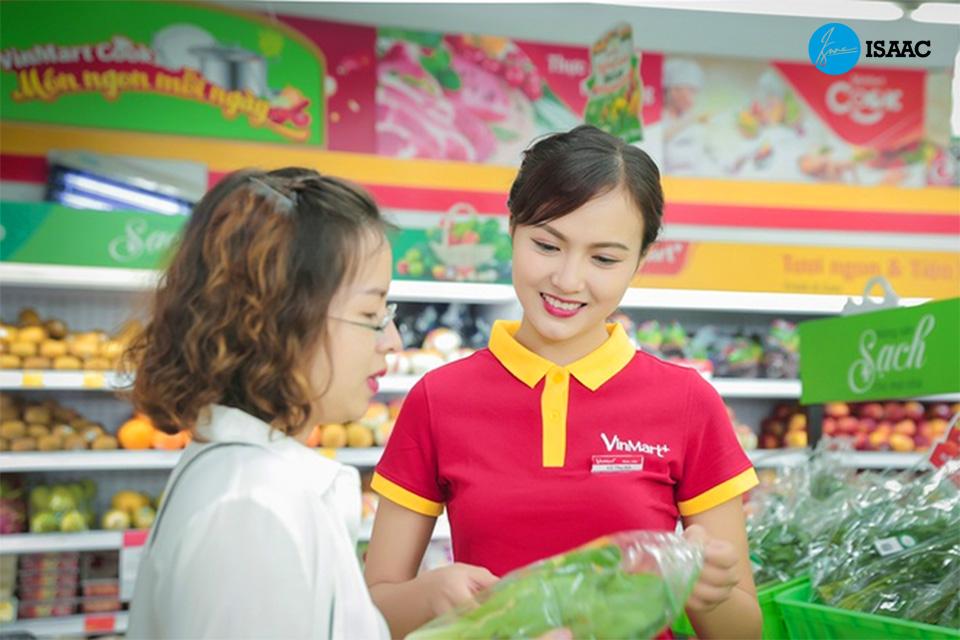 Kinh doanh nhượng quyền siêu thị VinMart+