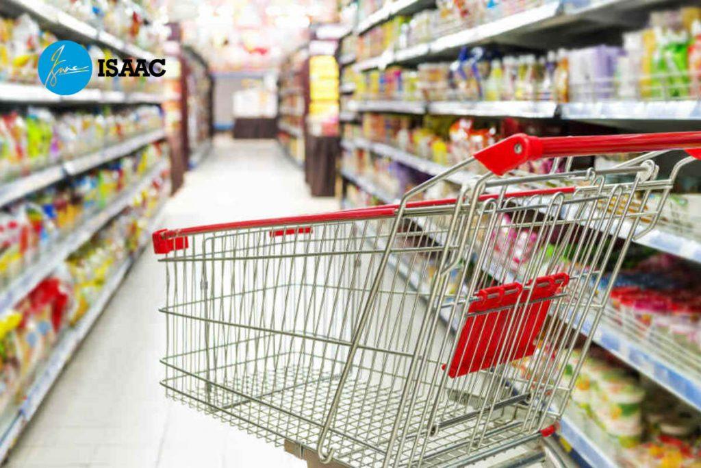Xe đẩy siêu thị nhập khẩu