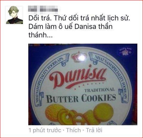 Bánh Danisa giả nhái
