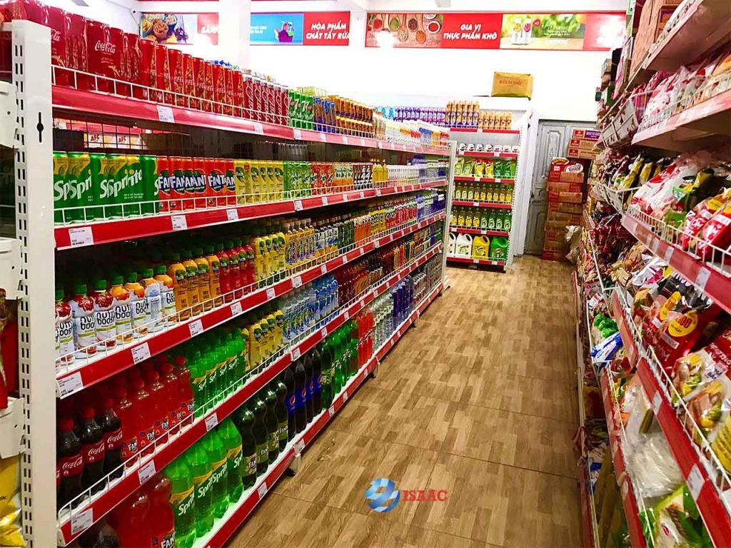 Giá kệ siêu thị để hàng