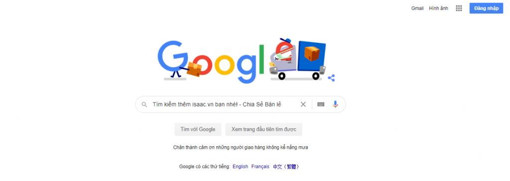 Tìm kiếm nguồn hàng trên google