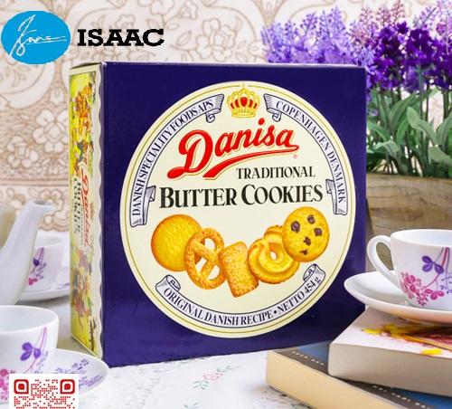 Bánh hộp thiếc Danisa