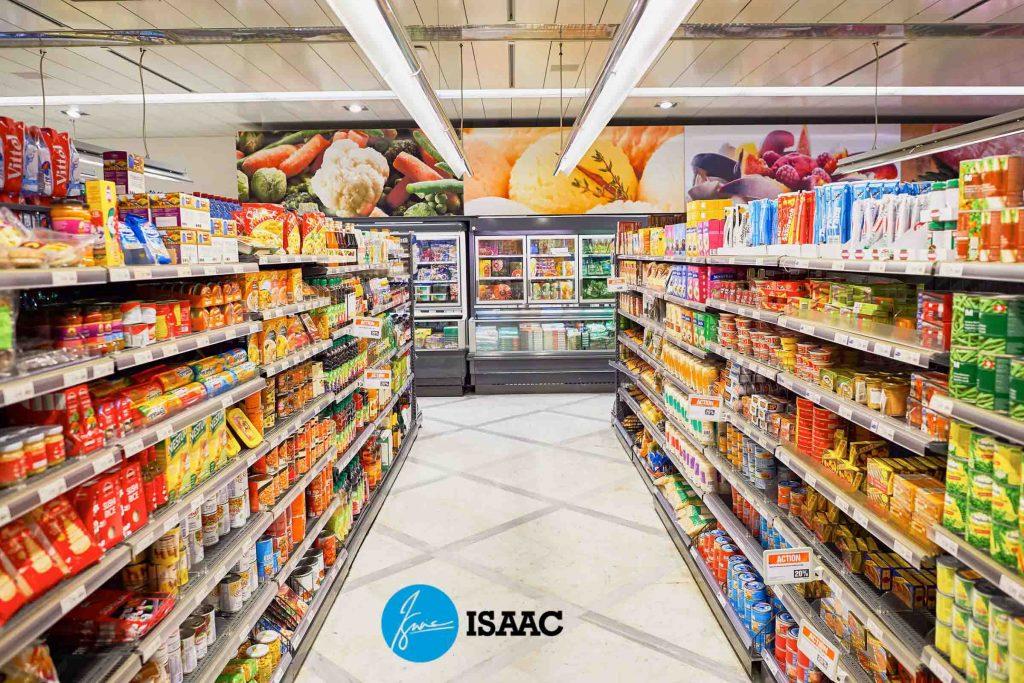 Kệ siêu thị tại ISaac