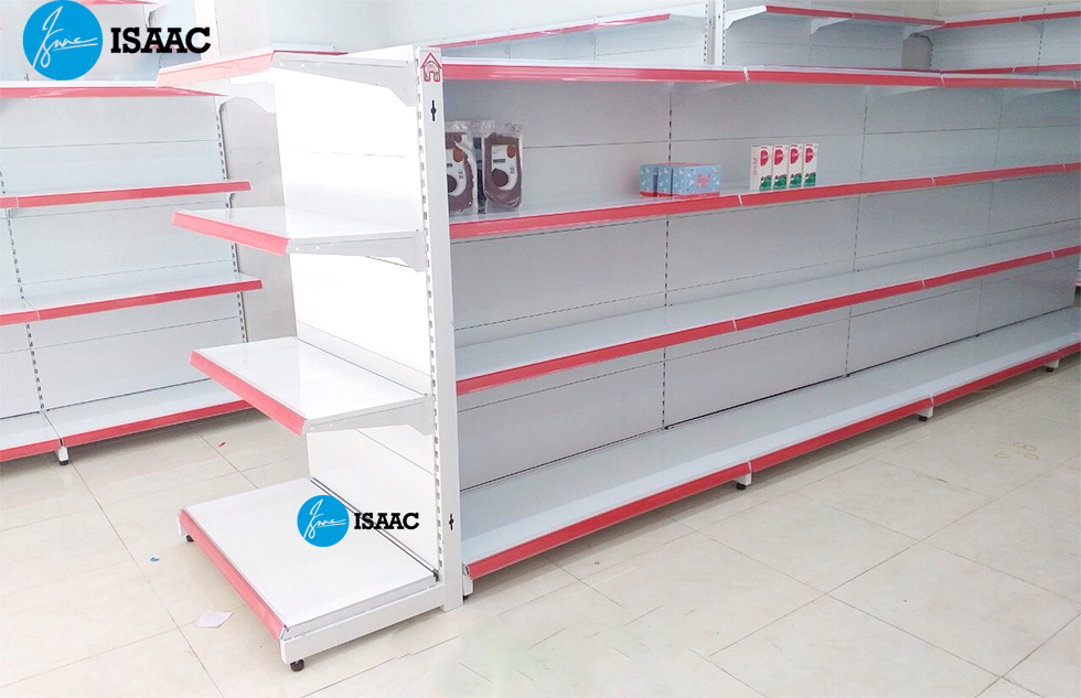 Kệ siêu thị tôn liền tại ISaac