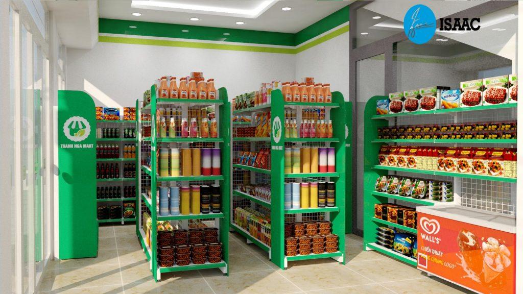 Tư vấn mở siêu thị mini kinh doanh thành công