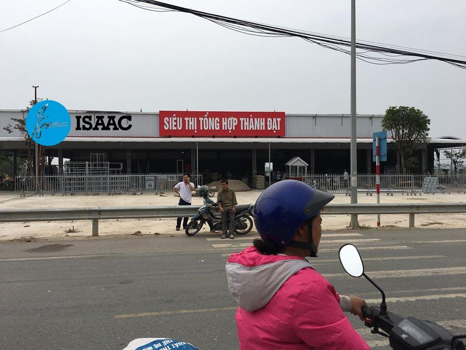 Khảo sát mặt bằng siêu thị tại Phú Thọ