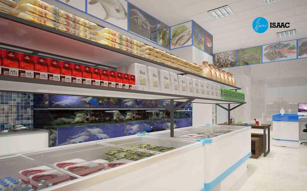 Quản lý cửa hàng hải sản