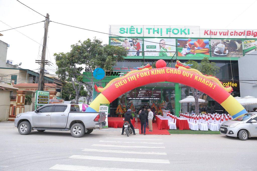 Setup siêu thị mini tại Thanh Hóa