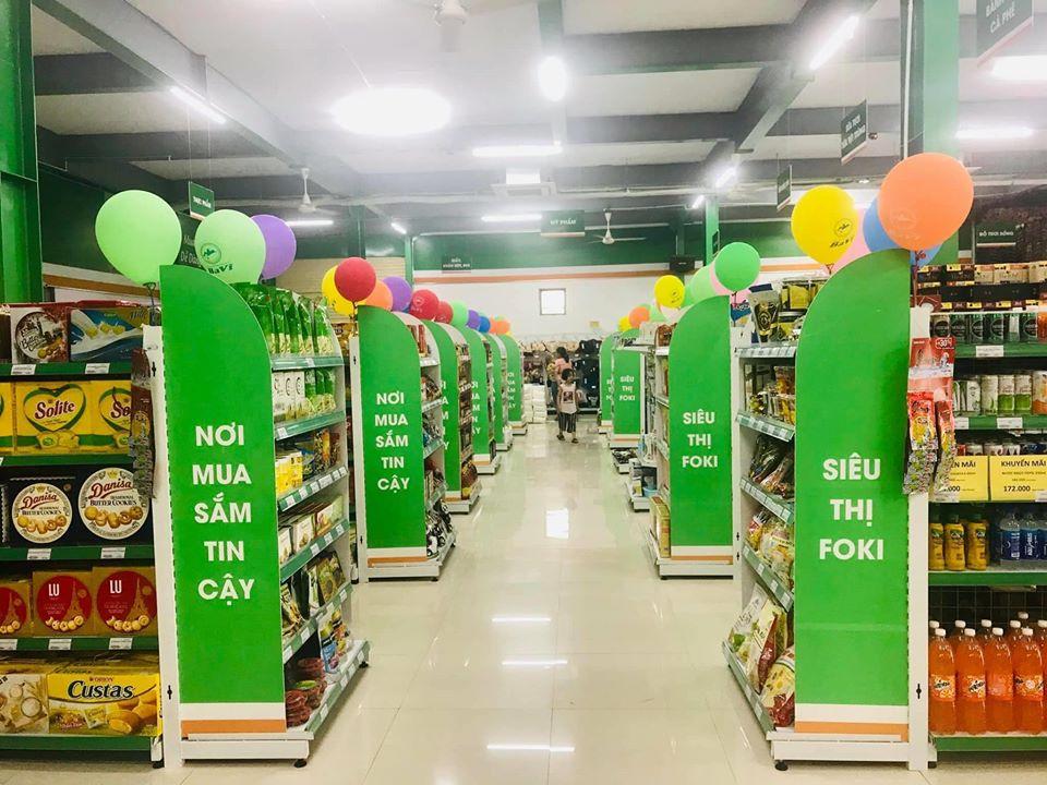 Setup siêu thị mini tại Thanh Hóa hoàn thiện