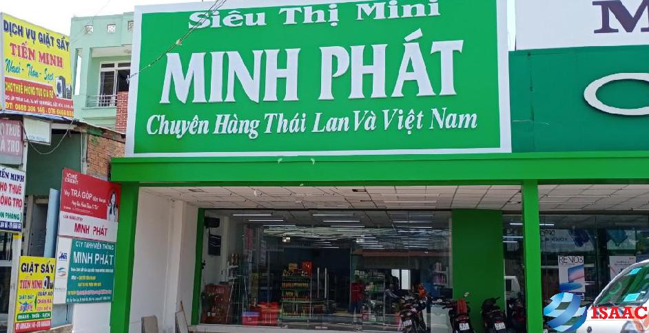 Lắp đặt kệ siêu thị tại Thái Nguyên