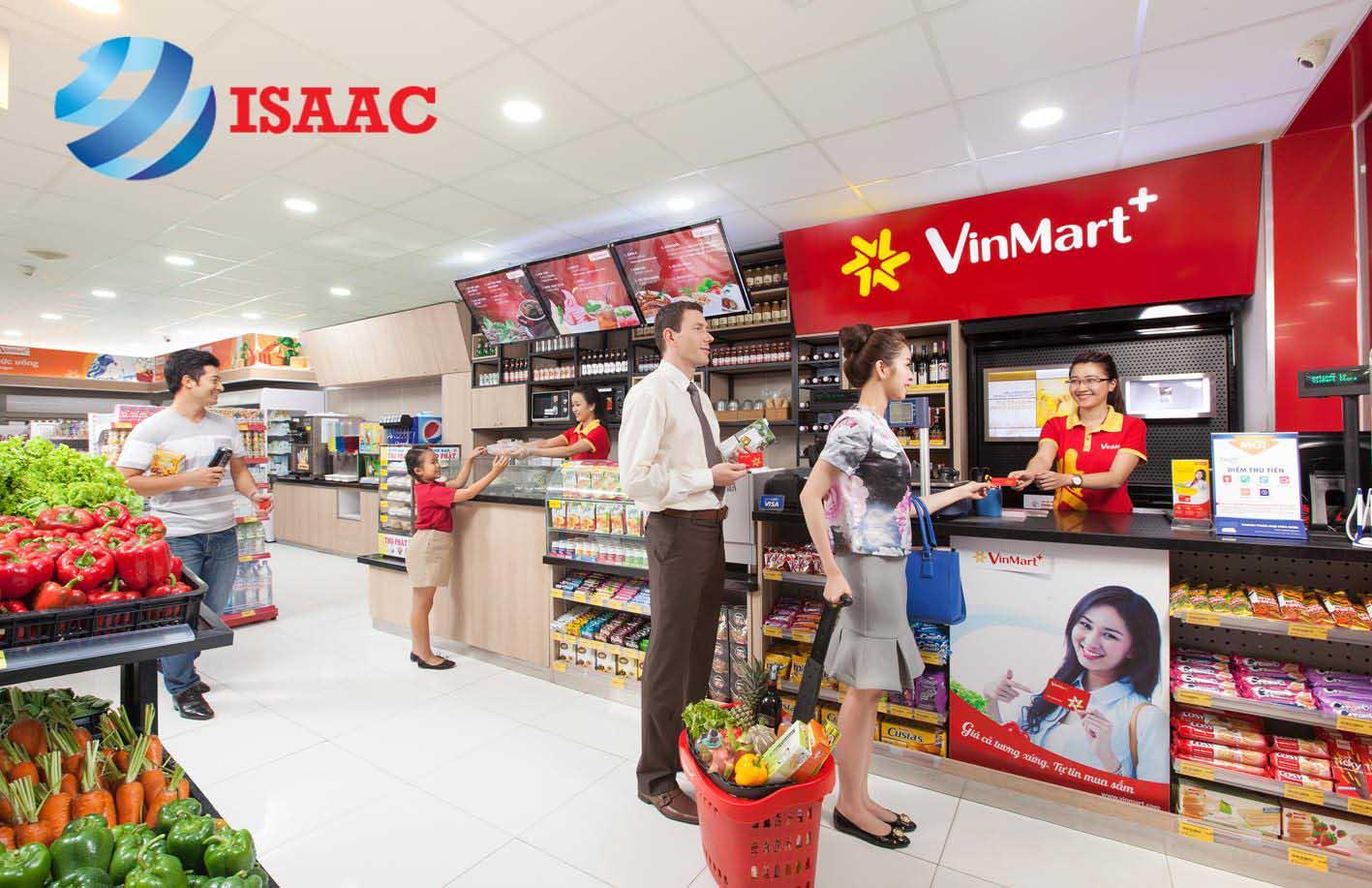 Hệ thống siêu thị Vinmart tại Hà Nội