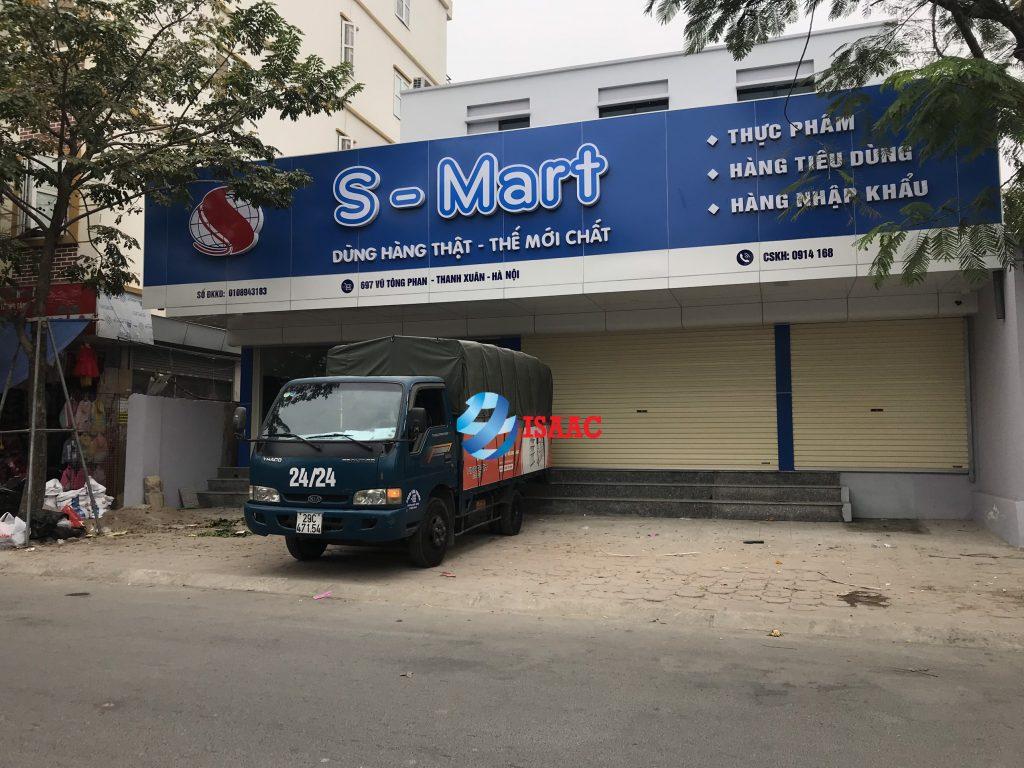 Tư vấn giá kệ siêu thị ở Hà Nội cho S Mart
