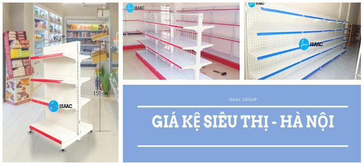 Giá kệ siêu thị tại Hà Nội mua ở đâu uy tín