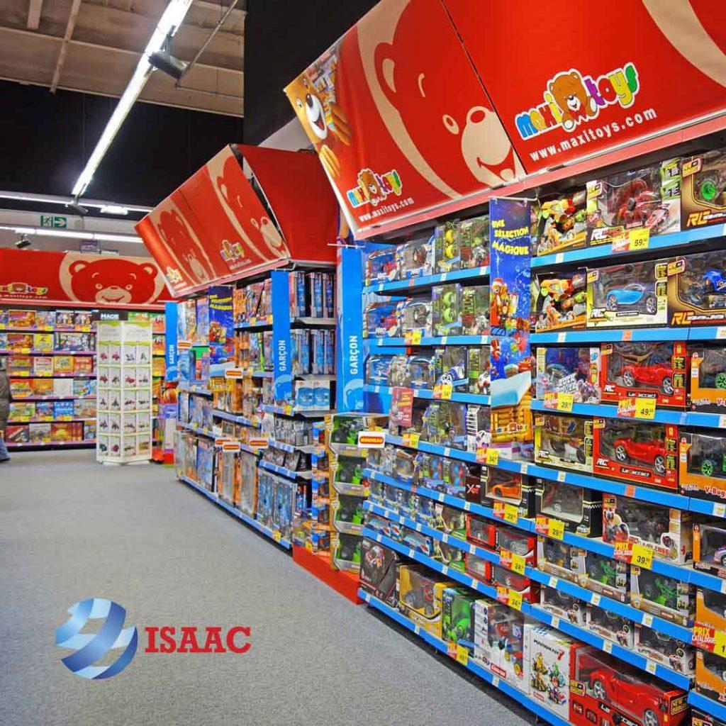 Kệ trưng bày đồ chơi siêu thị