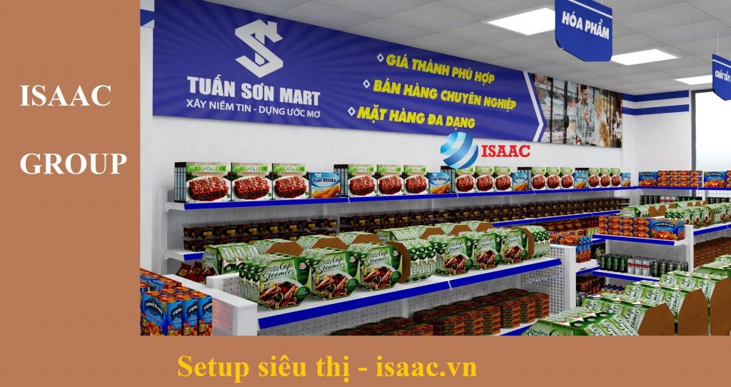 ISAAC chia sẻ khó khăn khi mở siêu thị mini