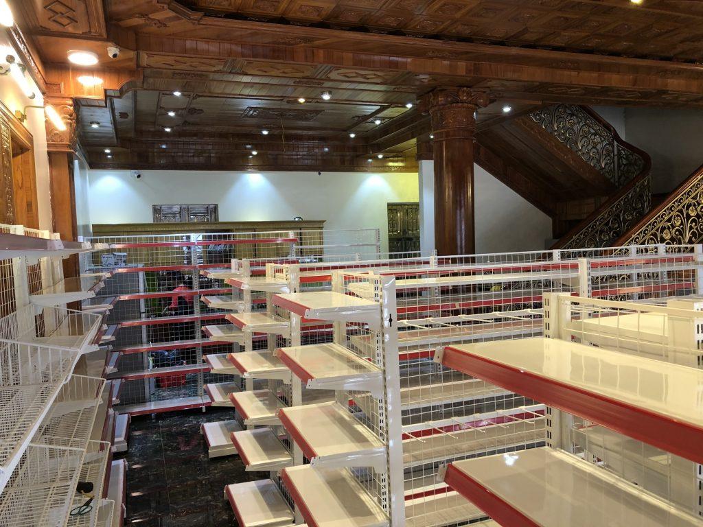Kệ siêu thị mini giá rẻ tại Hưng Yên