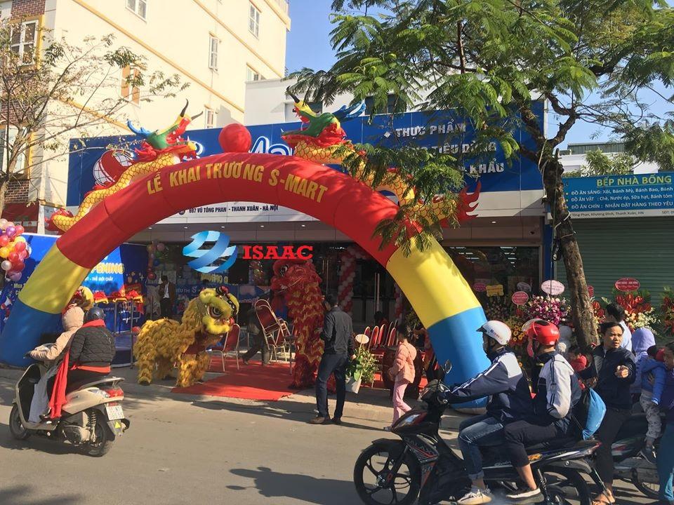 Hình ảnh khai trương siêu thị mini tại quận Thanh Xuân