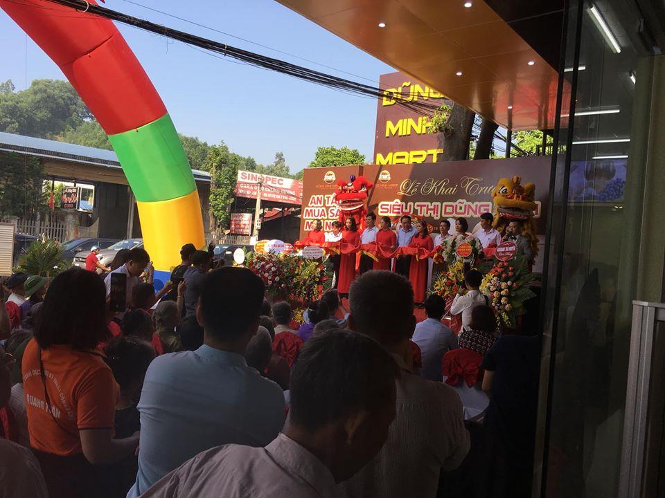Lễ khai trương siêu thị Dũng Minh Thái nguyên