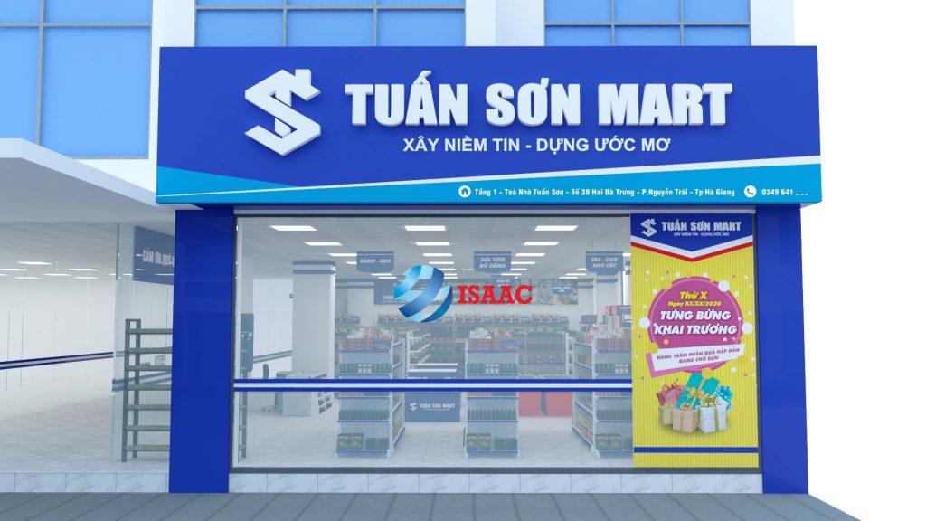 Thiết kế siêu thị Hà Giang