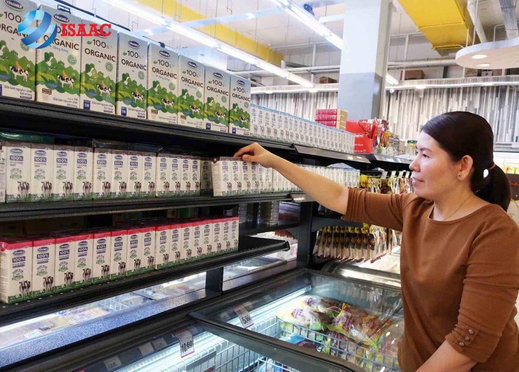 vốn mở cửa hàng sữa Vinamilk