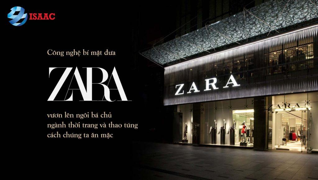 sự thành công thương hiệu Zara