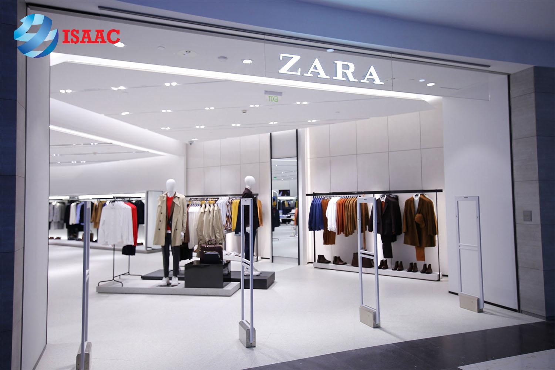 yếu tố thành công thương hiệu Zara