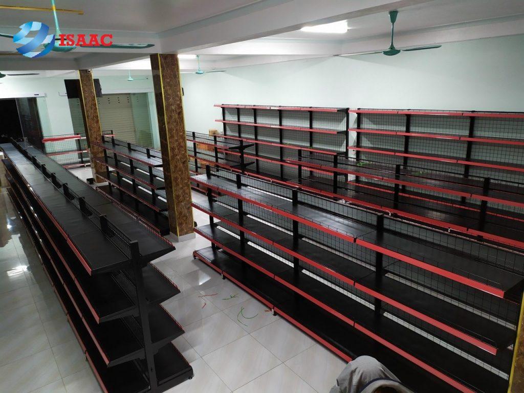 Lắp đặt kệ siêu thị tại quận Lê Chân Hải Phòng