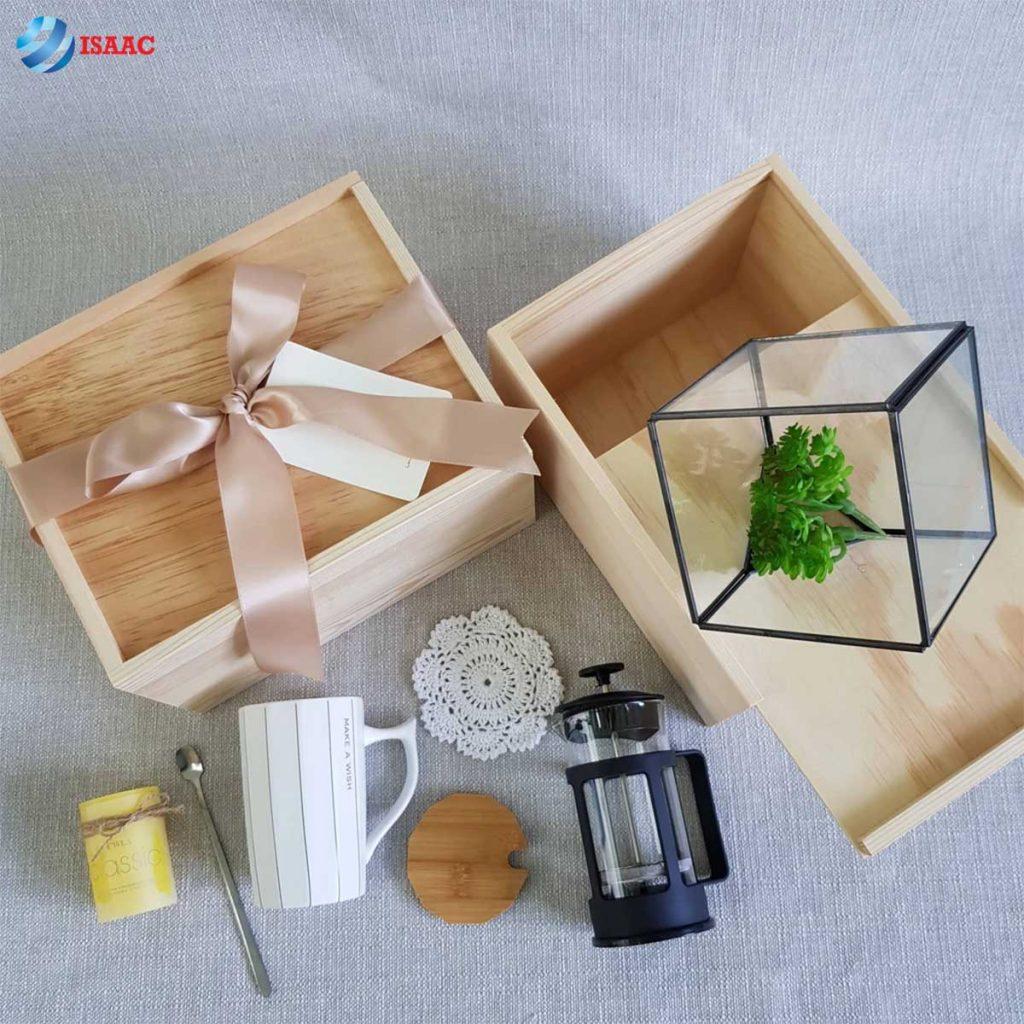 Mẫu hộp gỗ sáng tạo