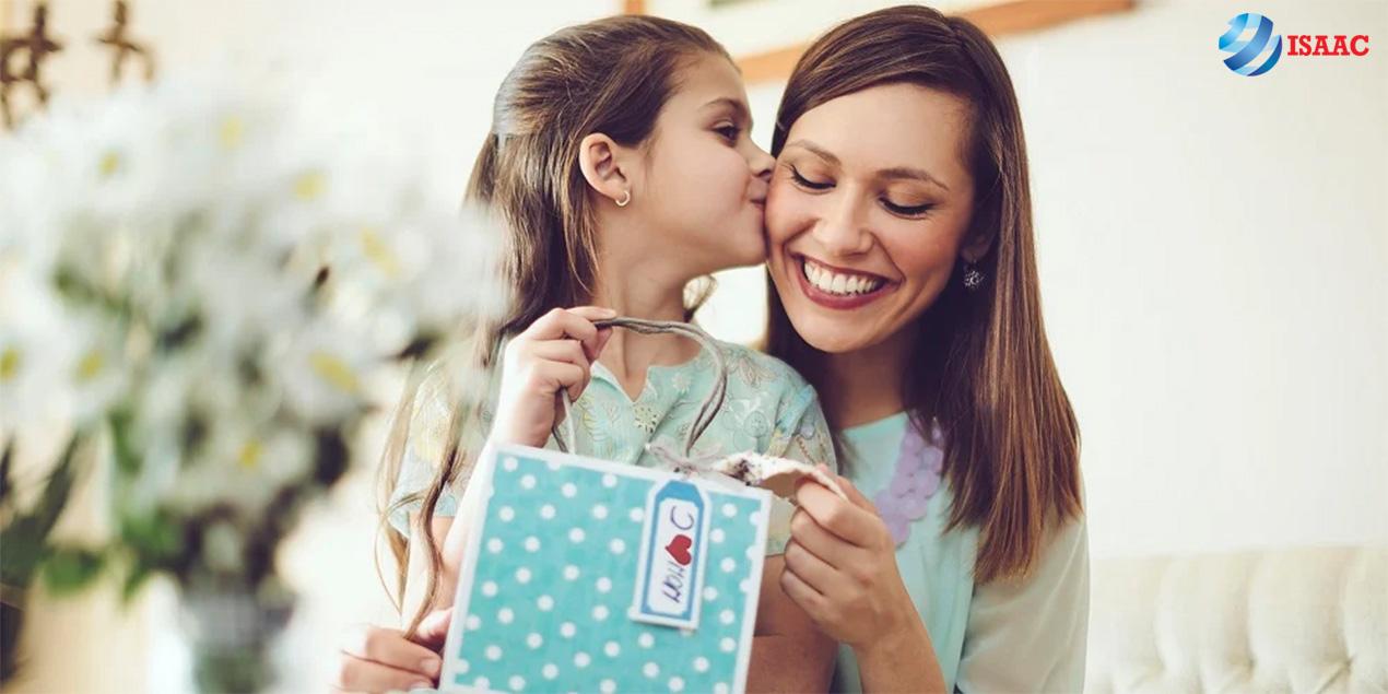 Quà tặng thể hiện lòng biết ơn Mẹ