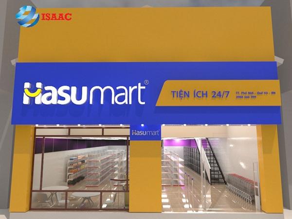 Thiết kế biển bảng siêu thị tại Bắc Ninh