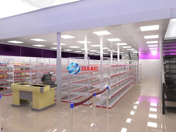 Thiết kế siêu thị Bắc Ninh