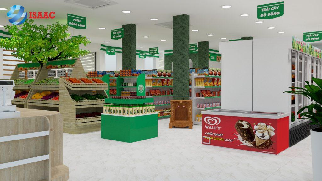Nhận diện và phân khu hàng hóa siêu thị Hà Đông