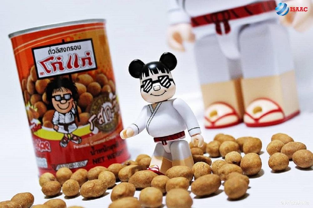 đồ ăn vặt thái lan đậu phộng koh kae