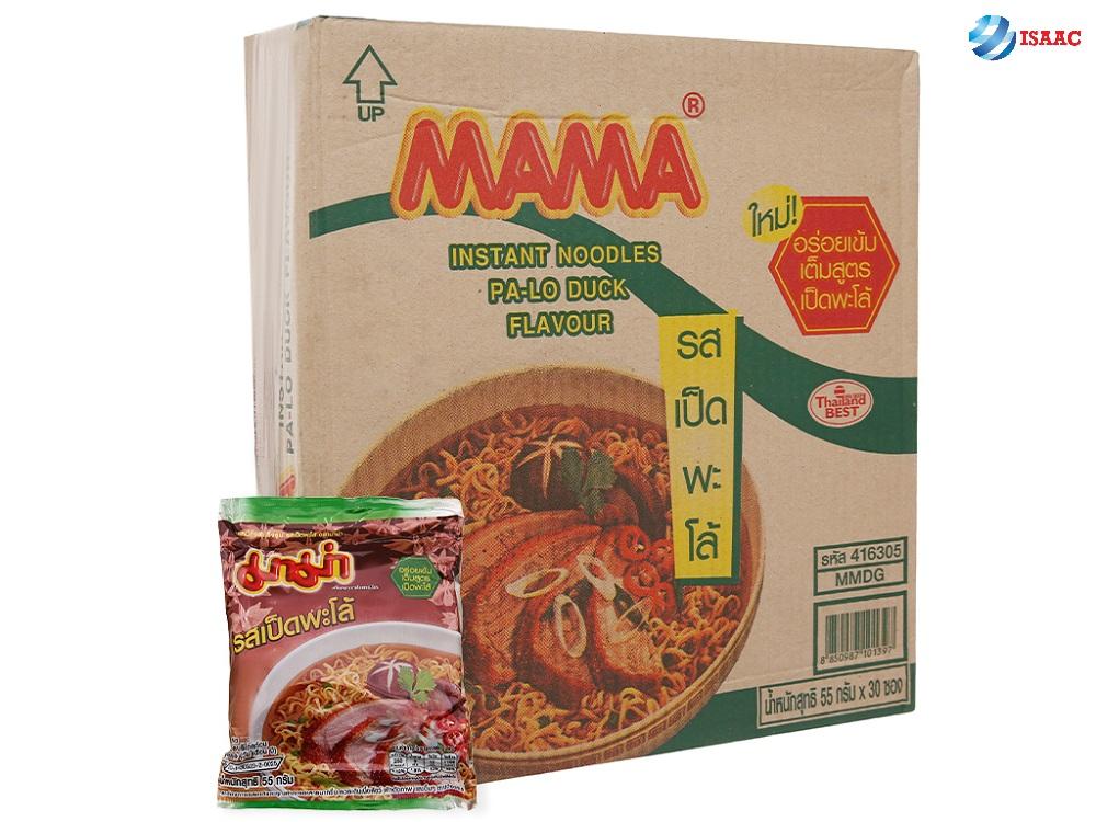 đồ ăn vặt thái lan mì mama