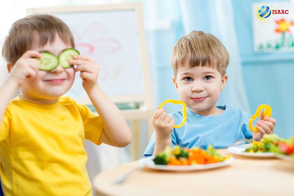 Món ăn vặt cho trẻ em từ rau củ
