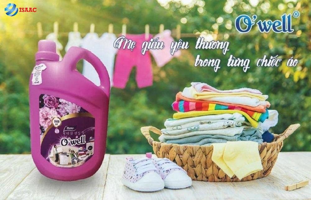 Kênh phân phối nước giặt Owell uy tín